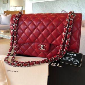 NWT Chanel Jumbo Classic FlapBag Lambskin $6,000